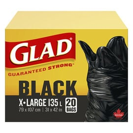 Glad Easy-Tie Kitchen Bags - Extra Large - 121L