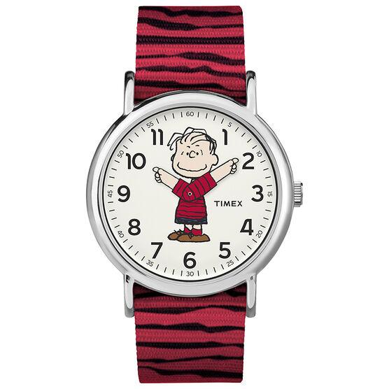 Timex x Peanuts Weekender Watch - Linus - TW2R41200JT