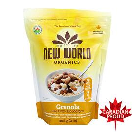 New World Organic Granola - Almond Cashew - 908g