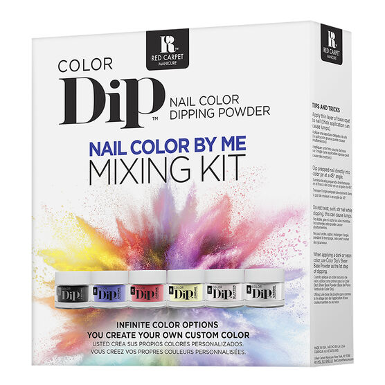 Red Carpet Manicure Color Dip Nail Color By Me Mixing Kit