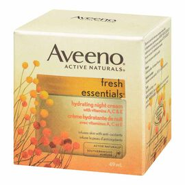 Aveeno Fresh Essentials Hydrating Night Cream - 49ml