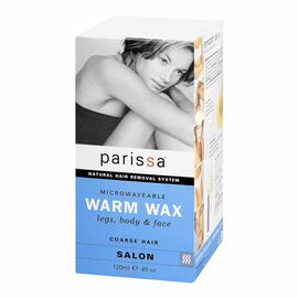 Parissa Microwaveable Warm Wax for Face & Body - 120ml