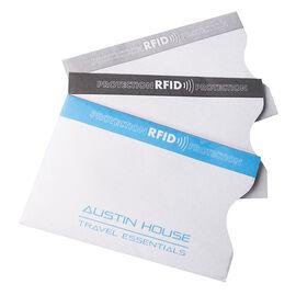 Austin House RFID Sleeve - 3 pack - AH62CS91