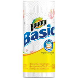 Bounty Basic PaperTowels - Prints - Single Roll
