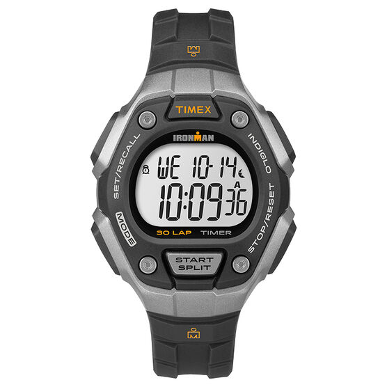 Timex Ironman Watch - Black/Grey - TW5K89200GP