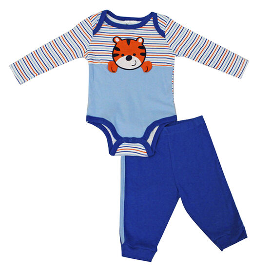 Baby Mode Tiger Onesie and Legging Set - 0-9 months - Assorted