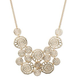 """Lonna & Lilly Filigree Necklace - Gold - 16"""""""