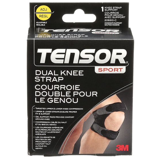Tensor Dual Knee Strap - Adjustable