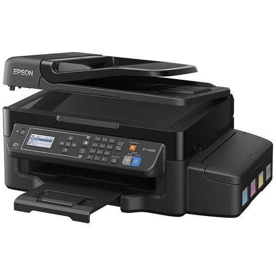 Epson WorkForce ET-4500 EcoTank All-in-One Printer - C11CE90201