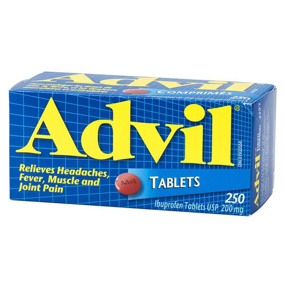 Advil Ibuprofen Tablets - 250's