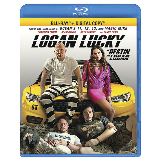 Logan Lucky - Blu-ray