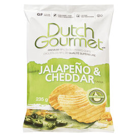 Dutch Gourmet Rip-L Chips - Jalapeno & Cheddar - 235g