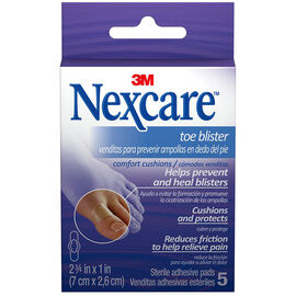 3M Nexcare Toe Blister Comfort Cushions - 5's