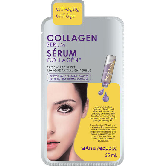 Skin Republic Collagen Serum Face Mask - 25ml
