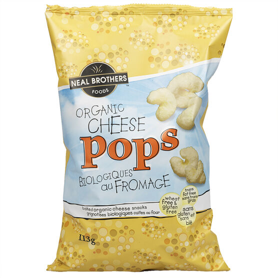 Neal Brothers Organic Cheese Pops - 113g