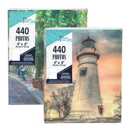 Pacific Trendz 220 Photo Album Twin Pack - Assorted - 2UP/4X6