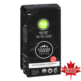 Kicking Horse Coffee Kick Ass - Dark Roast - Ground - 284g