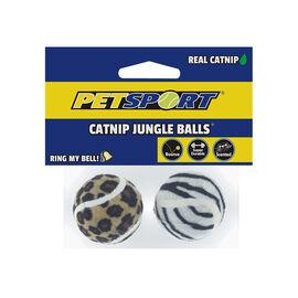 Petsport Catnip Jungle Balls - Assorted