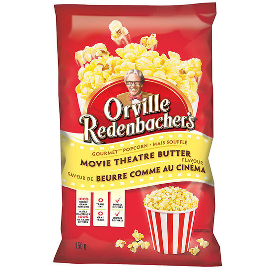Orville Redenbacher's Movie Theatre Popcorn - Butter - 150g