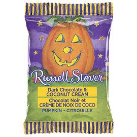 Russell Stover Chocolate Pumpkin - Dark Chocolate & Coconut Cream - 28g