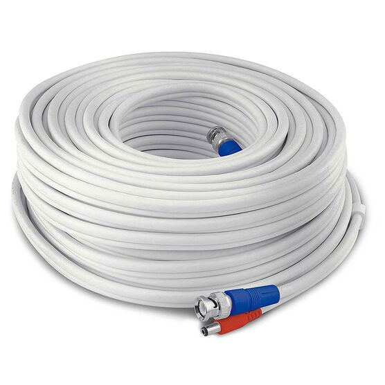 Swann 60m Fire Rated Cable - White - SWPRO-60MTVF-GL