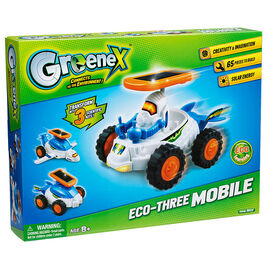 GreeneX Connects to the Environment - Eco-Three Mobile