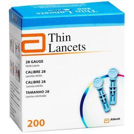 Abbot Thin Lancets - 28 Gauge - 200's