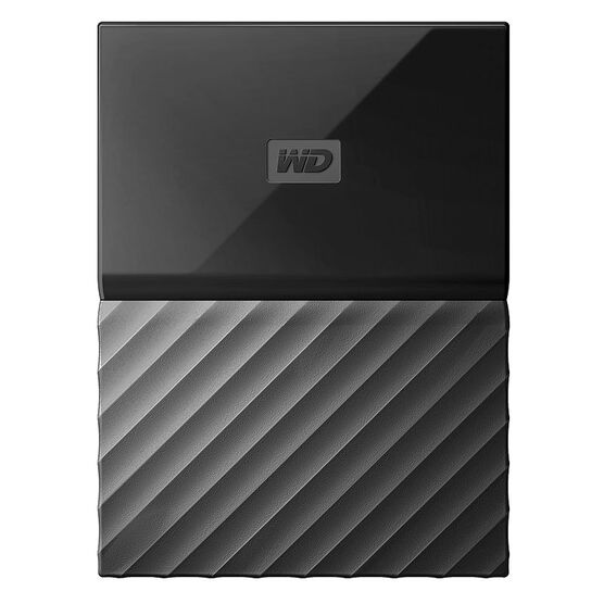 WD 2TB My Passport USB 3.0 Portable Storage - Black