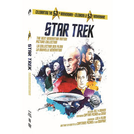 Star Trek: The Next Generation Motion Picture Collection - DVD