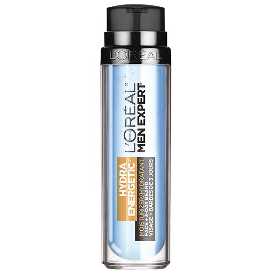 L'Oreal Men Expert Face & 3-Day Beards Hydra Energetic Moisturizing Gel - 50ml