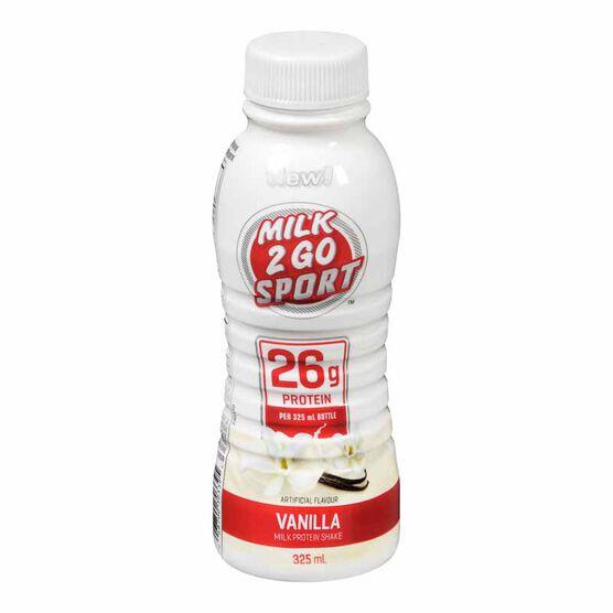 Dairyland Milk 2 GO Sport - Vanilla - 325ml
