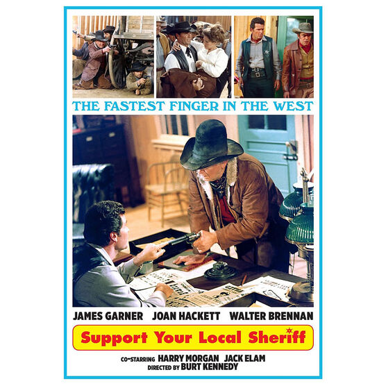 Support Your Local Sheriff - DVD