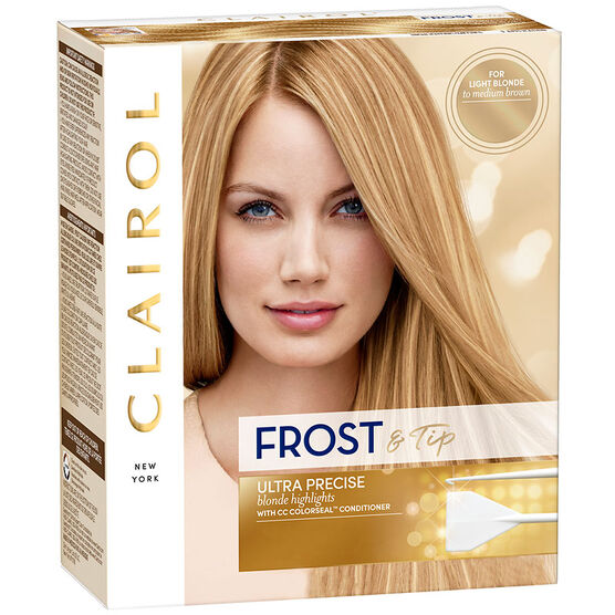 Clairol Frost & Tip - Light Blonde to Medium Brown