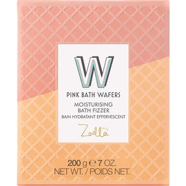 Zoella Beauty Jelly and Gelato Pink Bath Wafers Moisturizing Bath Fizzer - 200g