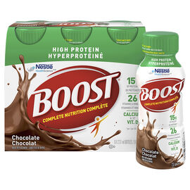 Boost High Protein Meal Replacement - Chocolate - 6 x 237ml
