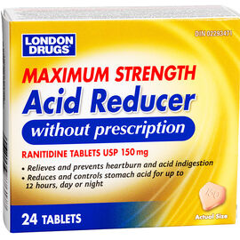 London Drugs Acid Reducer - 150mg - 24's