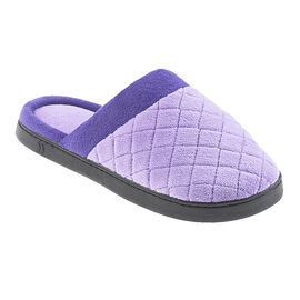 Isotoner Microterry Quilted Slide Slipper