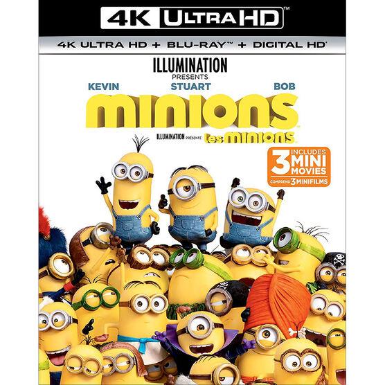 Minions - 4K UHD Blu-ray