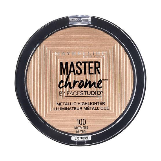 Maybelline Facestudio Master Chrome Metallic Highlighter - Molten Gold