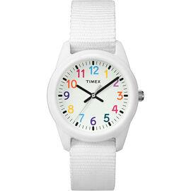 Timex Kids Analogue Watch - White - TW7C103002Y