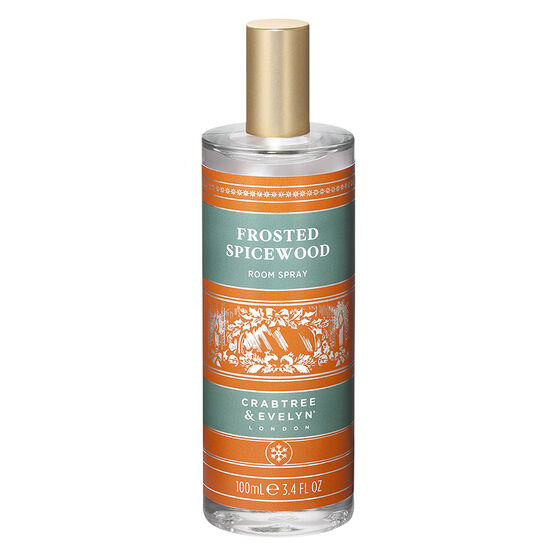 Crabtree & Evelyn Frosted Spicewood Room Spray - 100ml