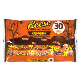 Hershey Reese Peanut Butter Cups - Reese's Pieces Stuffed  - 30 Pieces