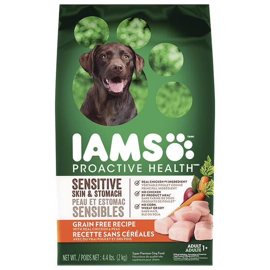 IAMS Grain Free Dog Food - Chicken and Peas - 2kg