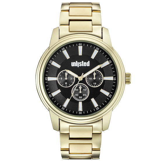 Unlisted by Kenneth Cole Men's Chronograph Watch - 10031974