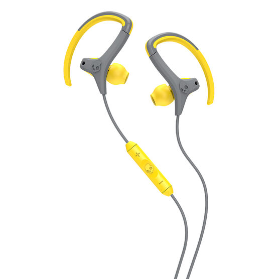 Skullcandy Chops In-Ear Headphones - Yellow/Grey - S4CHGY411
