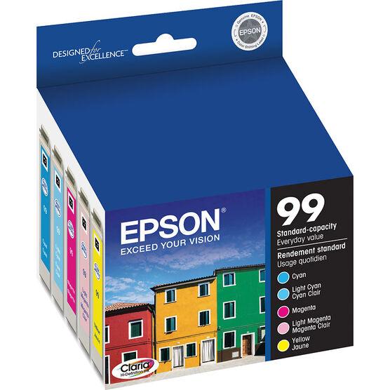 Epson 99 Claria Hi-Definition Ink 99 Standard-Capacity Colour Ink Cartridge - Colour Multi-pack - T099920-S