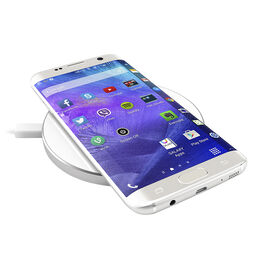 Satechi Qi Wireless Charger - Silver - STWCPS