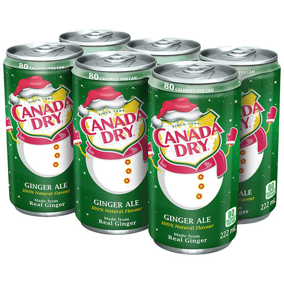 Canada Dry Gingerale - 6 x 222ml