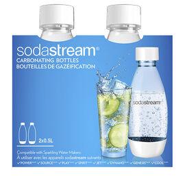 SodaStream Carbonating Bottles - 2 x 0.5L