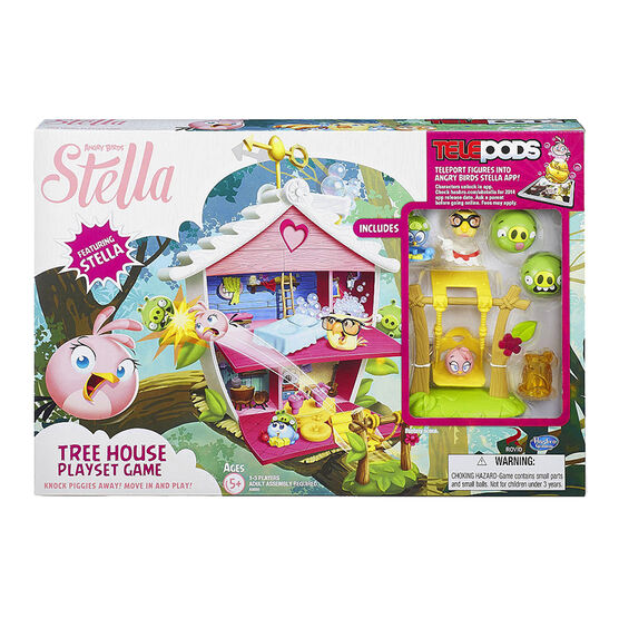 Angry Birds Stella Tree House Playset Game